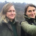 13. Mira Gáberová and Eva Jiřička
